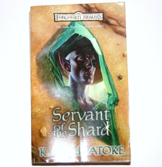 Servant of the Shard by R A SALVATORE 2001 Forgotten Realms Paths of Darkness Series