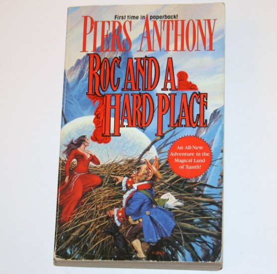 Roc and a Hard Place by PIERS ANTHONY TOR Fantasy 1996 Xanth Series
