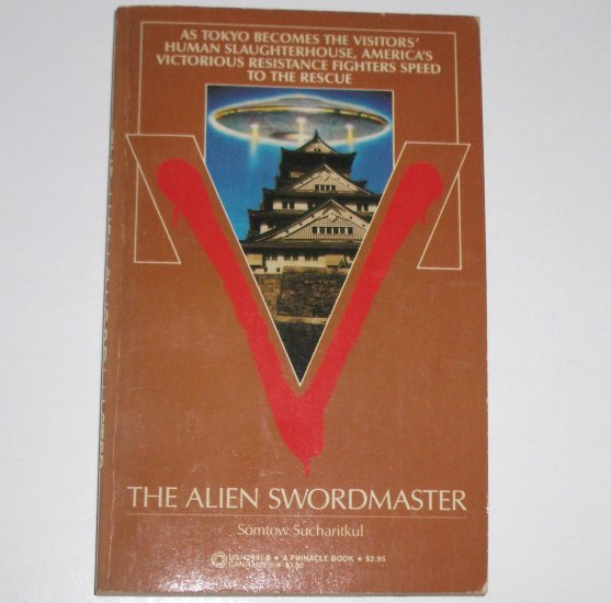 V: The Alien Swordmaster by SOMTOW SUCHARITKUL Pinnacle Books Science Fiction 1985