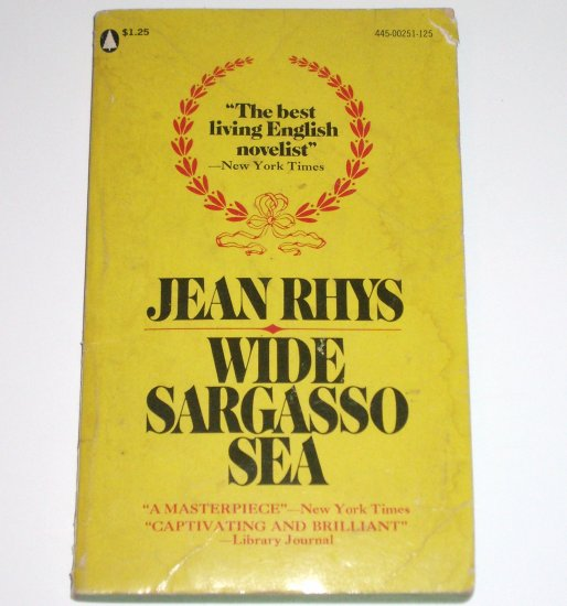 Wide Sargasso Sea by JEAN RHYS Gothic Romance Paperback Popular Library 1966