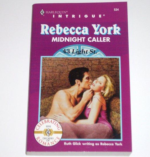Midnight Caller by Rebecca York Harlequin Intrigue No 534 1999 43 Light Street Series