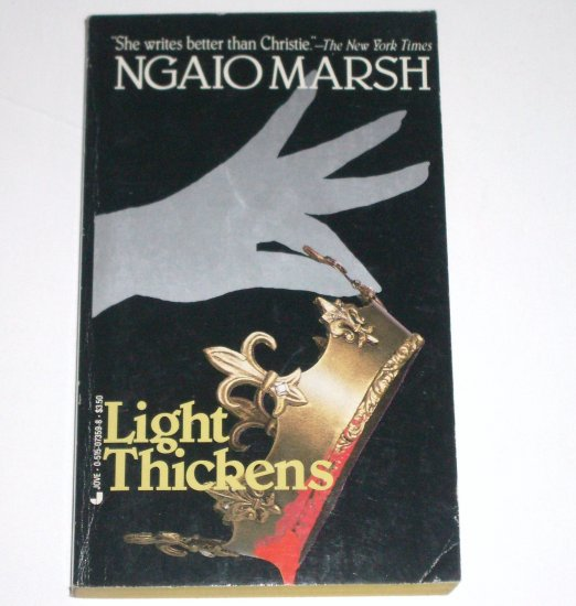 Light Thickens by NGAIO MARSH A Roderick Alleyn Cozy Mystery 1983