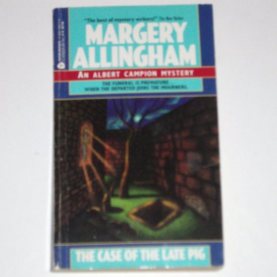 The Case of the Late Pig by MARGERY ALLINGHAM An Albert Campion Mystery 1989