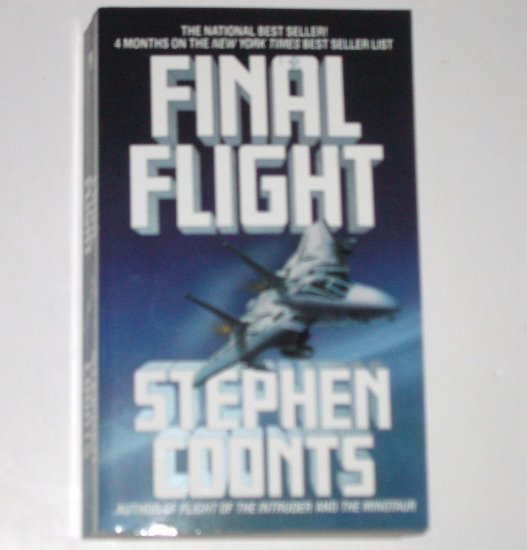 Final Flight by STEPHEN COONTS A Jake Grafton Novel 1989 Military Fiction