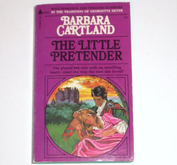 The Little Pretender by BARBARA CARTLAND Pyramid Books Historical Georgian Romance 1972