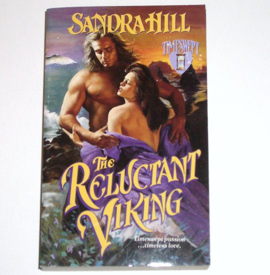 The Reluctant Viking by SANDRA HILL Love Spell Paranormal Time Travel Viking Romance 1999