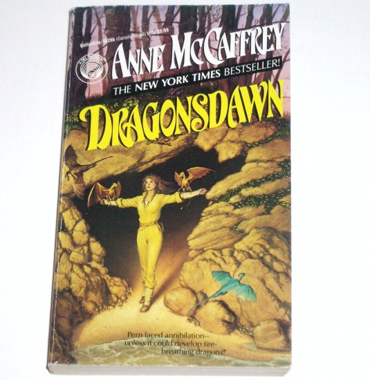 Dragonsdawn by ANNE McCAFFREY Del Rey Sci Fi 1993 Dragonriders of Pern Series