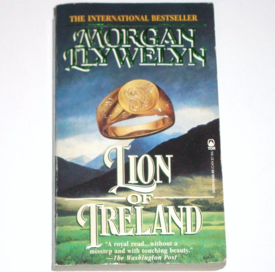 Lion of Ireland by MORGAN LLYWELYN Historical Medieval Romance 1996