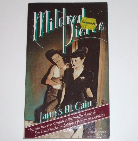 Mildred Pierce by JAMES M CAIN Mystery 1978
