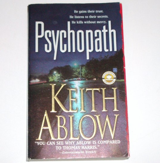 Psychopath by KEITH ABLOW Medical Thriller 2004 Frank Clevenger M.D. Series