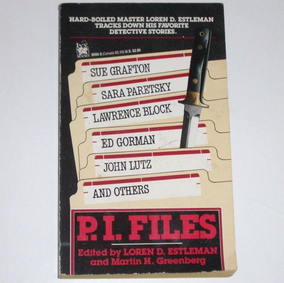 P.I. Files by SUE GRAFTON, SARA PARETSKY, LAWRENCE BLOCK, et al 1990