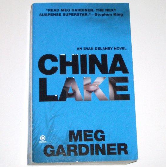 China Lake by MEG GARDINER An Evan Delaney Suspense Thriller 2008
