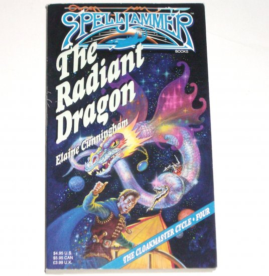 The Radiant Dragon by ELAINE CUNNINGHAM Fantasy 1992 Spelljammer: The Cloakmaster Cycle