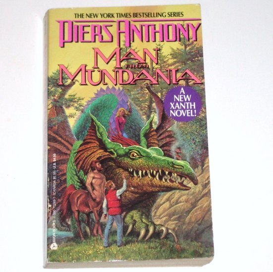 Man From Mundania by PIERS ANTHONY Fantasy 1989 A Xanth Novel