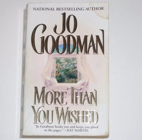 More Than You Wished by JO GOODMAN Historical Victorian Romance 2001 Hamilton Family Series