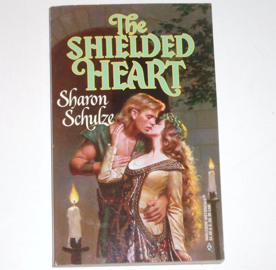 The Shielded Heart by SHARON SCHULZE Harlequin Historical Medieval Romance 1998