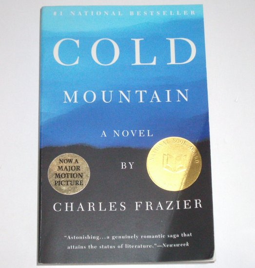 Cold Mountain by CHARLES FRAZIER 1998 Trade Size National Book Award Winner