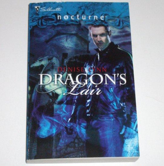 Dragon's Lair by DENISE LYNN Silhouette Nocturne 58 Feb09 Paranormal Romance