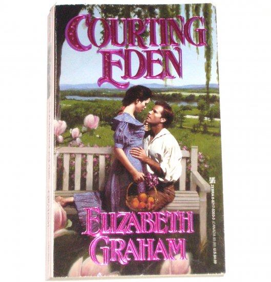 Courting Eden by ELIZABETH GRAHAM Historical Civil War Romance 1996