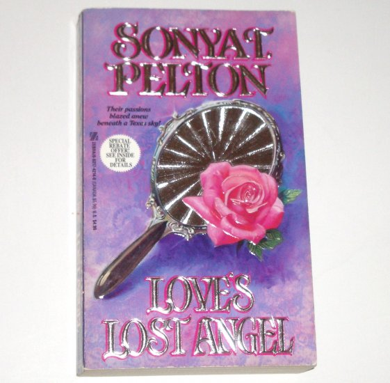 Love's Lost Angel by SONYA T PELTON Zebra Historical Western Romance 1993