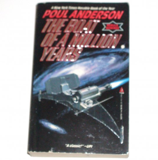 The Boat of a Million Years by POUL ANDERSON Science Fiction 1991
