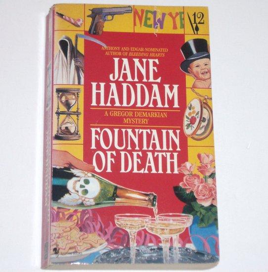 Fountain of Death by JANE HADDAM A Gregor Demarkian Mystery 1995