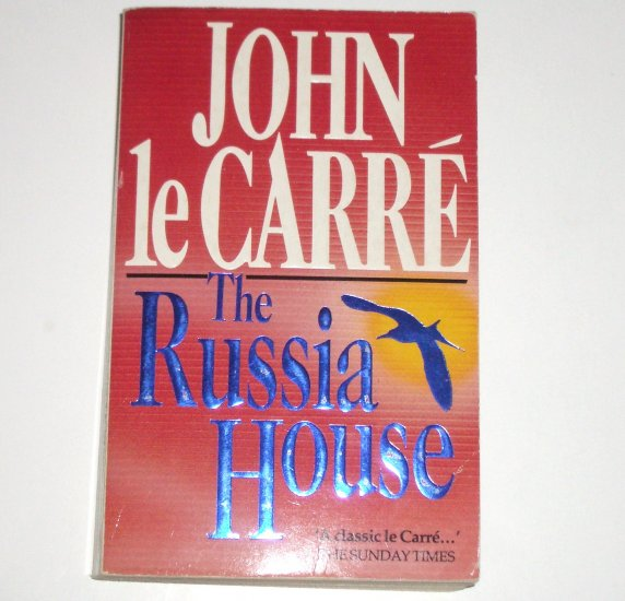 The Russia House by JOHN le CARRE Espionage Thriller 1990 Import