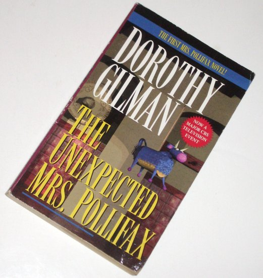 The Unexpected Mrs. Pollifax by DOROTHY GILMAN Cozy Mystery 1985