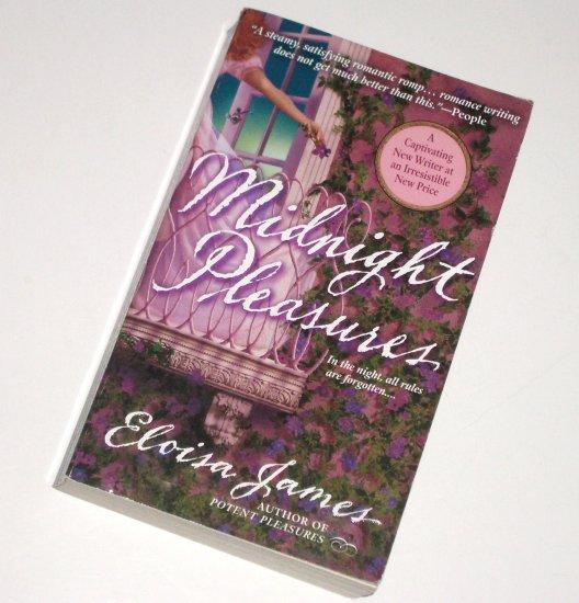 Midnight Pleasures by ELOISA JAMES Historical Regency Romance 2000 The Pleasures Trilogy Series