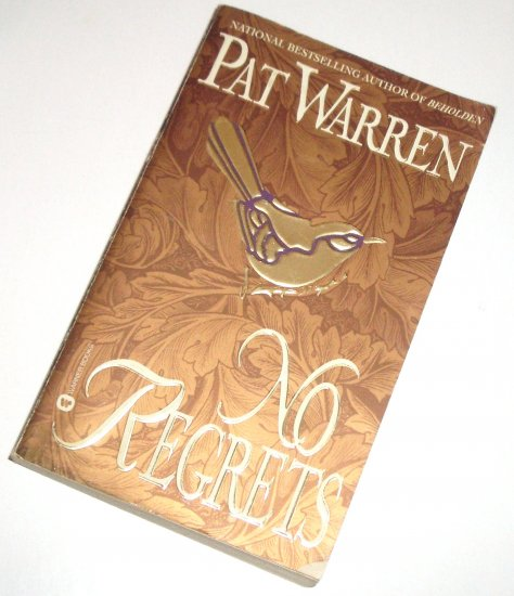 No Regrets by PAT WARREN Romantic Suspense 1997