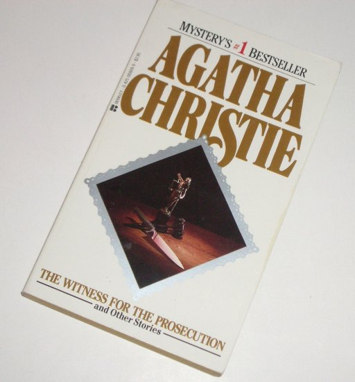 Witness for the Prosecution by AGATHA CHRISTIE Mystery 1984