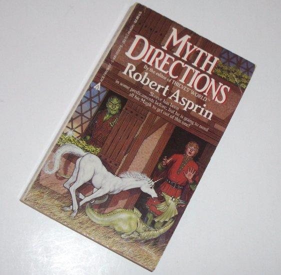 Myth Directions by ROBERT ASPRIN Ace Fantasy 1985 Myth Series