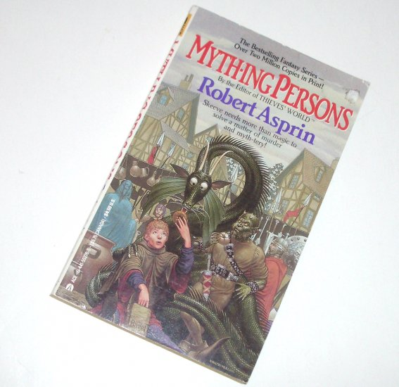 Myth-ing Persons by ROBERT ASPRIN Ace Fantasy 1986 Myth Series