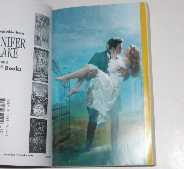 Dawn Encounter by JENNIFER BLAKE Historical Victorian Romance 2006 Masters at Arms Series