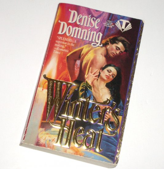 Winter's Heat by DENISE DOMNING Historical Medieval Romance 1994 Season Series