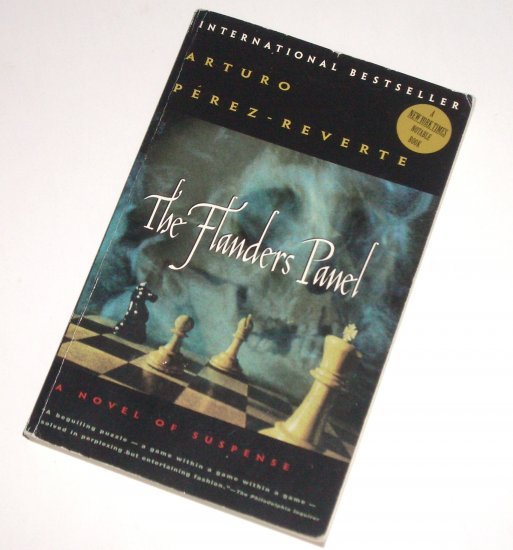 The Flanders Panel by ARTURO PEREZ-REVERTE Trade Size Historical Mystery 1996