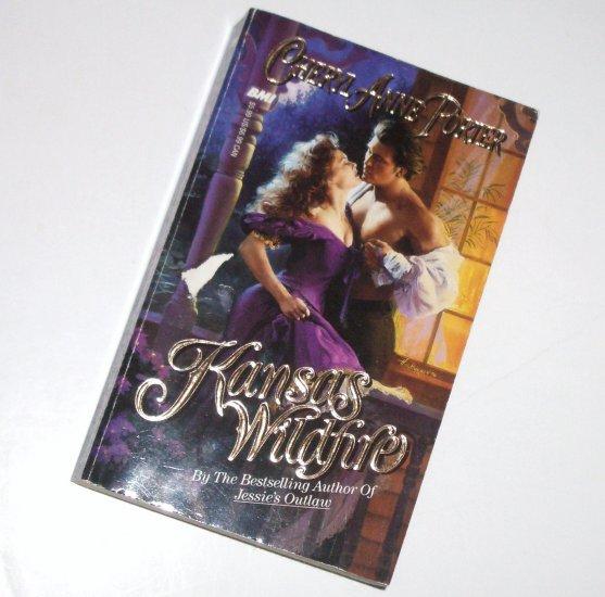 Kansas Wildfire by CHERYL ANNE PORTER Historical Western Romance 1994