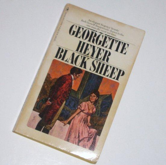Black Sheep by GEORGETTE HEYER Historical Regency Romance 1975