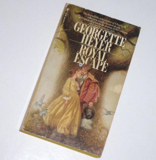 Royal Escape by GEORGETTE HEYER Historical Renaissance Romance 1970