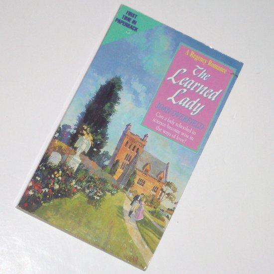 The Learned Lady by Joan Overfield Slim Historical Regency Romance 1996