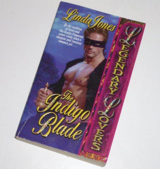 The Indigo Blade LINDA JONES Lovespell Historical American Revolution Romance 1999 Legendary Lovers