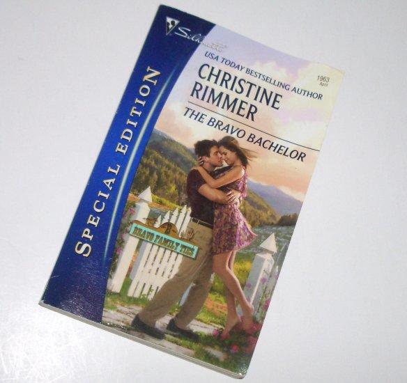 The Bravo Bachelor CHRISTINE RIMMER Silhouette Special Edition 1963 Apr09 Bravo Family Ties Series