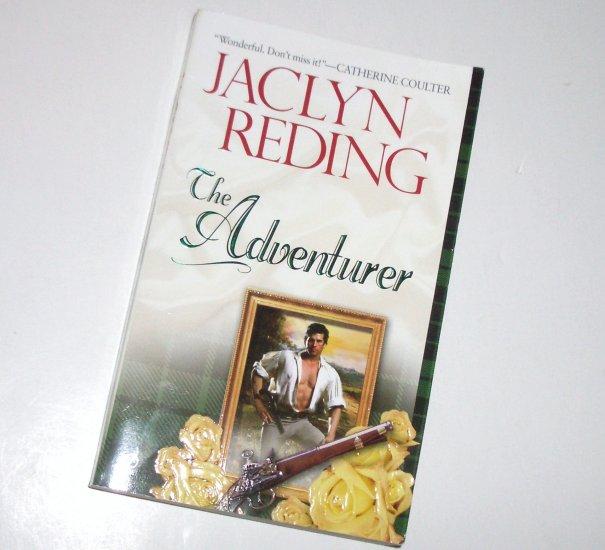 The Adventurer by JACLYN REDING Historical Scottish Romance 2002 Highlander Heroes Series