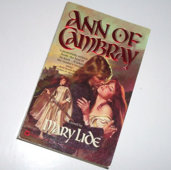 Ann of Cambray by MARY LIDE Historical Medieval Scottish Romance 1984
