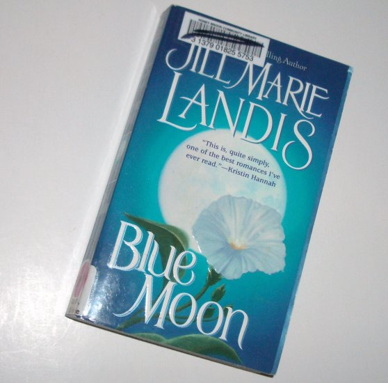 Blue Moon by JILL MARIE LANDIS Historical Indian Romance 1999