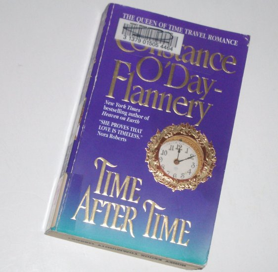 Time After Time by CONSTANCE O'DAY-FLANNERY Paranormal Time Travel Romance 2001