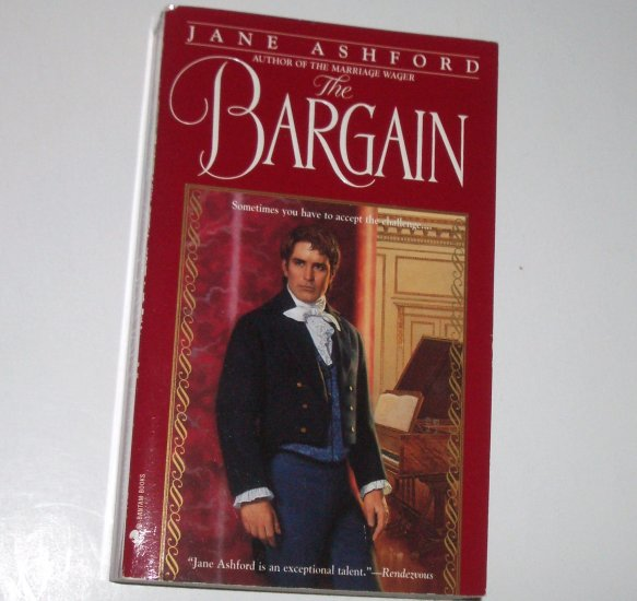 The Bargain by JANE ASHFORD Historical Regency Romance 1997