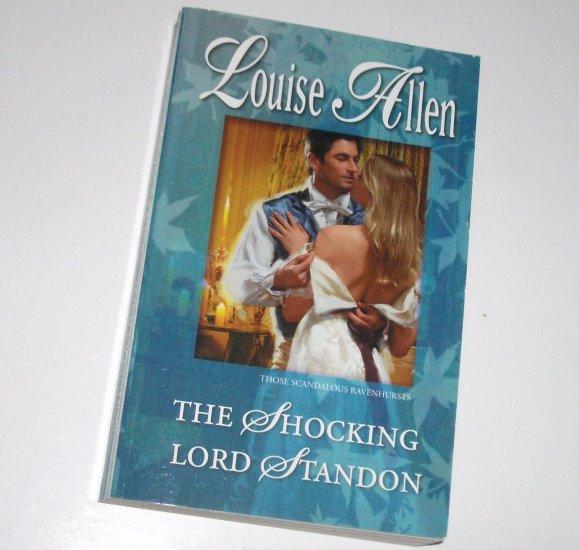 The Shocking Lord Standon LOUISE ALLEN H'quin Regency Romance 2008 The Scandalous Ravenhursts Series