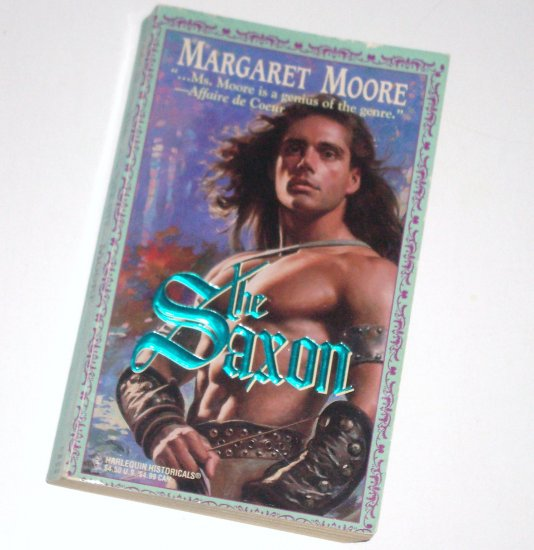 The Saxon by MARGARET MOORE Harlequin Historical Medieval Romance No 286 1995 Vikings Series