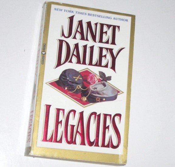 Legacies by Janet Dailey Historical Civil War Romance 1996